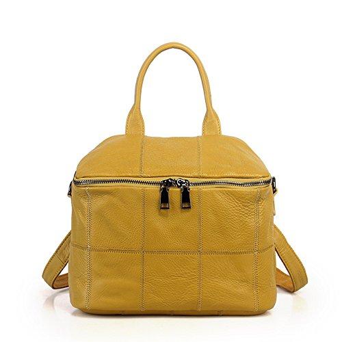 GUANGMING77 La Sra. Fang _ Bolsa De Viaje,Bolsa Negra yellow