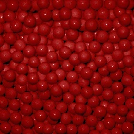 Red Candy Beads 2 Pounds ()