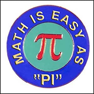Math is Easy as Pie Pin - 1 per order