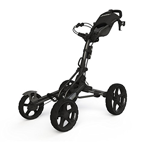 Clicgear Model 8.0 | 4-Wheel Golf Push Cart (Charcoal)