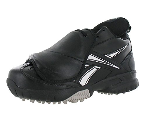 Reebok Homme Champ Magistrat Ii Pl Mi Baseball Plaque Garde Umpire Gazon Chaussure En Noir Et Blanc