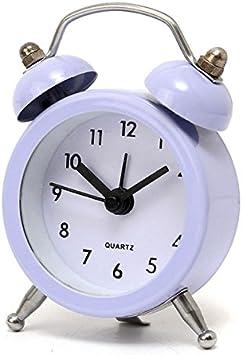 Mini Alarm Clock Bell Alarm Clock Analog Desk Clock with  Bell 50mm