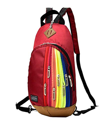 Sac Rouge Bigood Arc Ajustable Vogue Multifonction Casual Dos Femme À Fille ciel en qq7rE