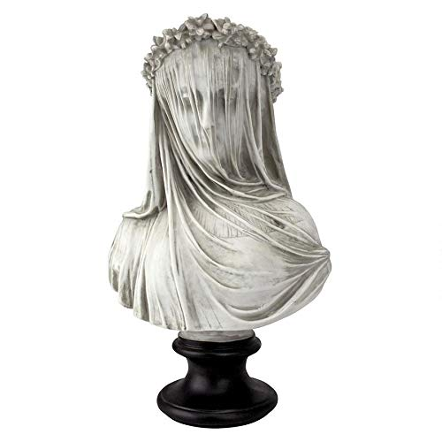 Design Toscano The Veiled Maiden Sculptural Bust