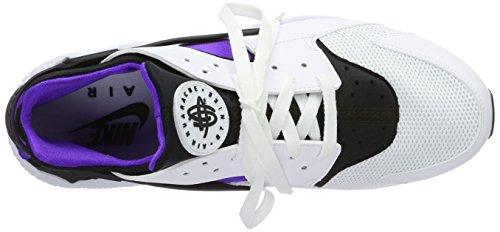 Nike Herren Air Huarache Weiß / Hyper Grape / Lila