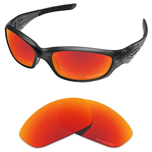 Tintart Performance Replacement Lenses for Oakley Straight Jacket 2007 Polarized - Sunglasses Jacket Straight