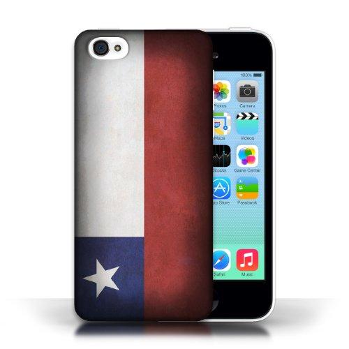 iCHOOSE Print Motif Coque de protection Case / Plastique manchon de telephone Coque pour Apple iPhone 5C / Collection Drapeau / Chili/Chiliean