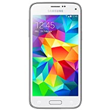 SAMSUNG GALAXY S5 MINI SM-G800F 16GB WHITE FACTORY UNLOCKED LTE 4G SIMFREE [ GSM 850/900/1800/1900 | 3G 850/900/1900/2100 | 4G LTE 800/850/900/1800/2100/2600 ]