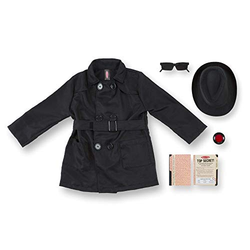 Melissa & Doug Spy Role Play Costume -