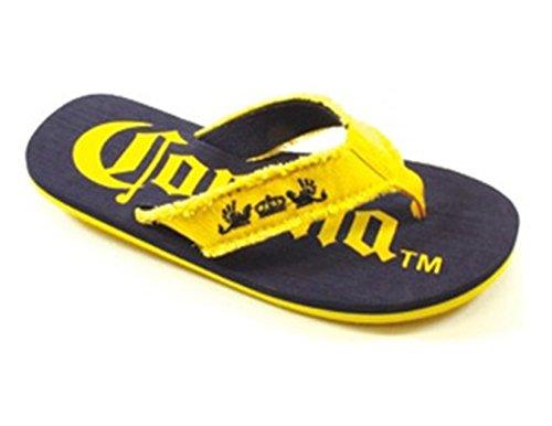 Corona Mens Big Sizes Sandals Flip Flops Men's Extra Sizes Beach Sandals (13, Blue)