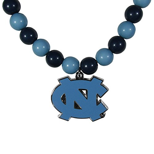 Siskiyou NCAA North Carolina Tar Heels Fan Bead Necklace