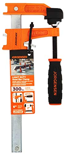 Jorgensen 3706-LD 6-Inch Light-Duty Steel Bar Clamp