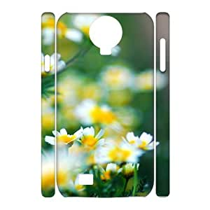 3D the Rusty Old Wire and the Flowers Samsung Galaxy S4 Case, [White]