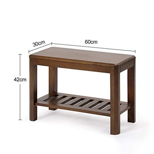 Amazon.com: ZHAOYONGLI - Banco de almacenamiento de madera ...