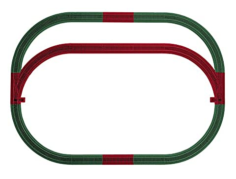 Lionel Trains American Flyer S-Gauge FasTrack Outer Passing Loop Add-On Track Pack - Lionel Outer Passing Loop