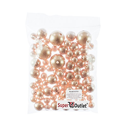 home & kitchen, home décor,  vase fillers  discount, Super Z Outlet Elegant Glossy Polished Pearl Beads for Vase Fillers, DIY Jewelry Necklaces, Table Scatter, Wedding, Birthday Party Home Decoration, Event Supplies (8 Ounce Pack, 70 Pieces) (Gold) deals1