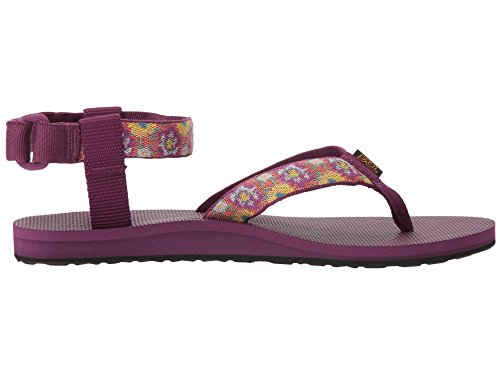 Teva Womens Original Sandale Malena Fondu Violet Foncé / Multi
