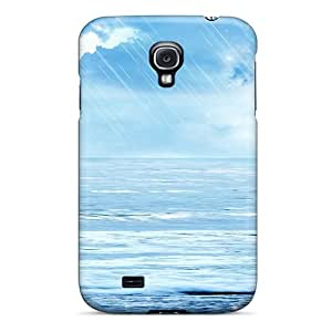 New Arrival Case Specially Design For Galaxy S4 (rain At Sea)