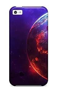 LJF phone case For Iphone 5c Fashion Design YY-ONE Star Wars Fiction Planet Case-eMNpymF2461wcaRn