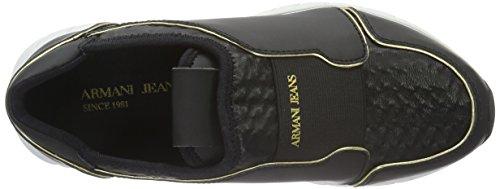 Armani Jeans9250886A480 - Scarpe Running Donna, Nero (Schwarz (NERO 00020)), 36