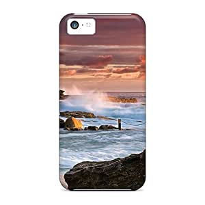 Excellent Design Spectacular Pool In Rocky Seashore Case Cover For Iphone 5c