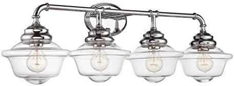 "Savoy House 8-393-4-11 Fairfield 4-Light Bathroom Vanity Light (35\"" W x 11\""H)"