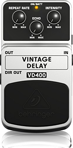 (Behringer VD400 Vintage Analog Delay Effects Pedal)