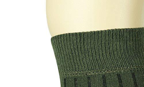 Mysocks Unisexe uni genou haut chaussettes 2