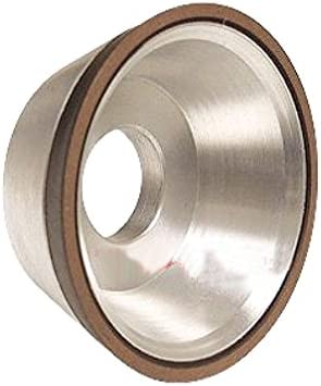 "SHARS 5 x 1-3//4/"" D11V9 CBN FLARING CUP WHEEL 150 GRIT DIAMOND 1//8 NEW"