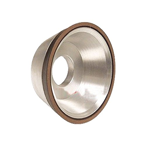 HHIP 2404-5063 5 x 1/16 x 1-1/4 Inch D11V9 Flaring Cup CBN Wheel