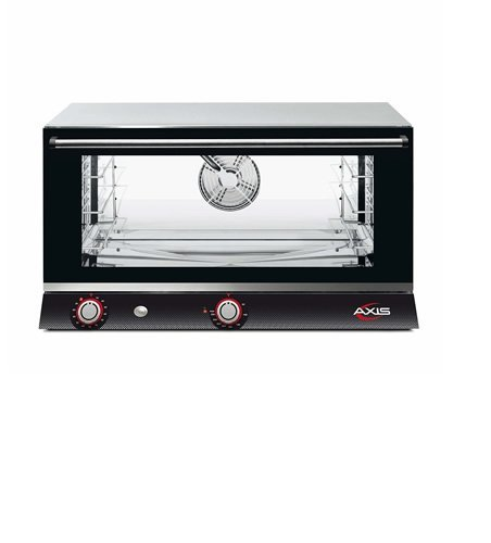 Axis AX-813RH Electric Conv Oven - Full Pan - Three shelves - Manual - One Fan