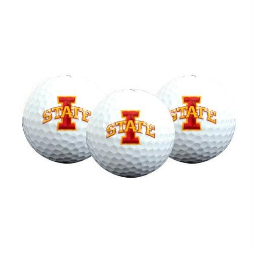 Team Effort Iowa State Cyclones Golf Ball 3 Pack