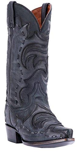 Dan Post Mens Hensley Western Boot Snip Toe - Dp2571 Nero