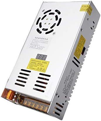 Queenwind AC 110/220V から DC 0-60V 8A 480W 調整可能な制御スイッチ電源ドライバトランス/LED ストリップ用 LCD ディスプレイ