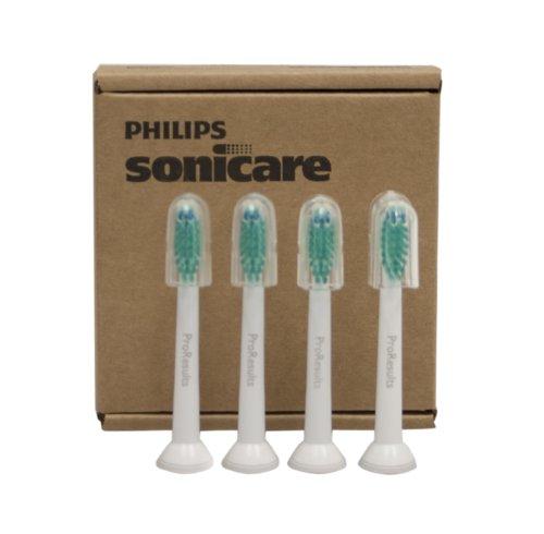 Philips Sonicare HX6014 / 30 Résultats Pro Tête de brosse, Standard, 4 comte