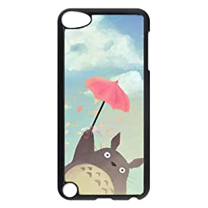 iCustomonline Totoro Protective Back Hard PC Black iPod Touch 5 Case Cover