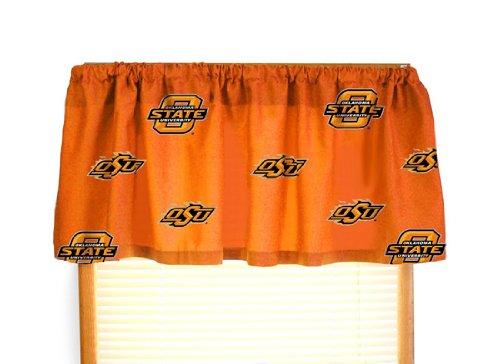 - Oklahoma State Printed Curtain Valance - 84 x 15 - Oklahoma State Cowboys