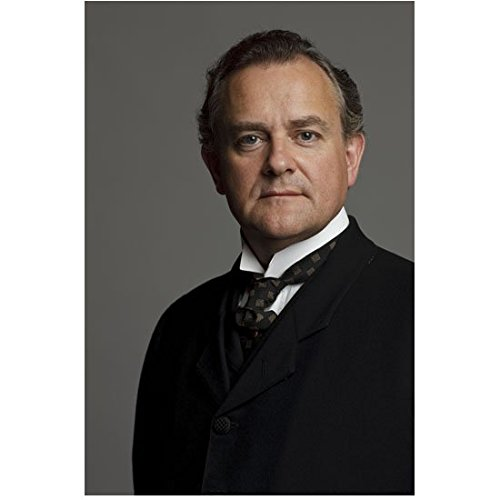 Downton Abbey Hugh Bonneville as Robert Crawley, Earl of Grantham Head Shot Half Smile 8 x 10 Inch Photo]()