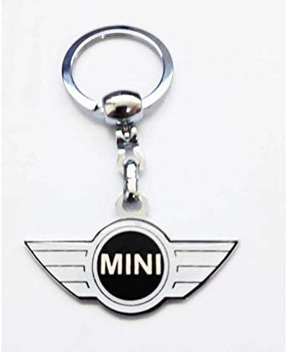 xenon bright Metal Key Ring Mini Cooper 1pcs