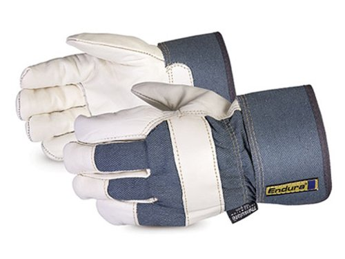 Superior 76BFTLL Endura Grain Cowhide Leather Fully Thinsulate Lined Winter Fitter Glove with Safety Cuff, Work, Ladies (Pack of 1 Dozen) by Superior Glove Works
