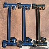 "10"" Locking Shower Head Extension Arm in Titanium Gold"