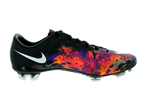 Nike Herren Mercurial Veloce Ii Cr Fg Fußballschuhe Negro / Blanco / Naranja (Black / White-Total Crimson)