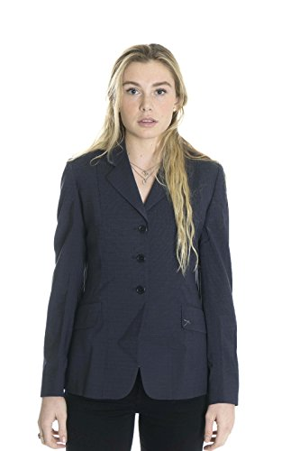 The Tailored Sportsman Tailored Coat - The Tailored Sportsman Women's Minton Show Coat in Navy Check, 6