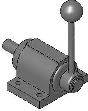 DE-STA-CO FO-161/60 Variable Stroke Straight Line Action Plunger Clamp