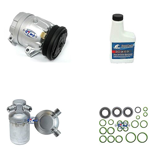 A/C Remanufactured Compressor Kit Fits 1996-1998 Buick Skylark Oldsmobile Achieva Pontiac Grand Am L4 2.4L 57991 ()