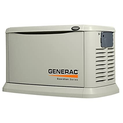 Generac 6237 Guardian Series, 8kW Air Cooled 100 Amp Automatic Transfer  Switch, Standby Generator (Discontinued by Manufacturer)