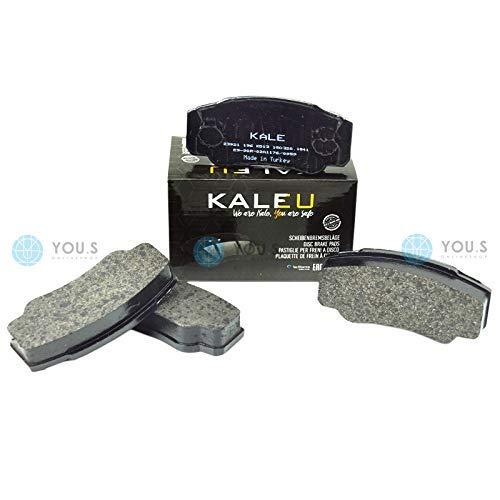 Kale 425246 Rear Axle Set of Brake Pads Brake Pads: