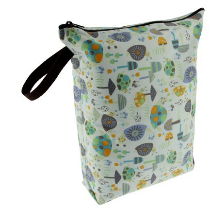 Blueberry Diaper Wet Bags, Snails by Blueberry