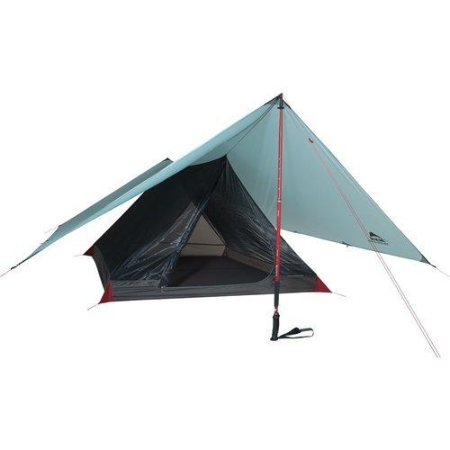 MSR Thru-Hiker Mesh House 3 Shelter Tent, Grey by MSR