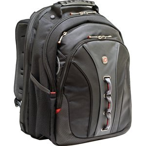 TRG WA-7329-14F00 SWISSGEAR LEGACY BACKPACK BLACK FITS UP TO 15.6IN LAPTOP by TRG - SWISS GEAR - Legacy Notebook Backpack